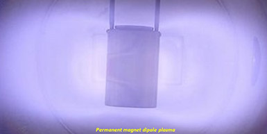 A steady state permanent magnet dipole plasma sustained in argon.