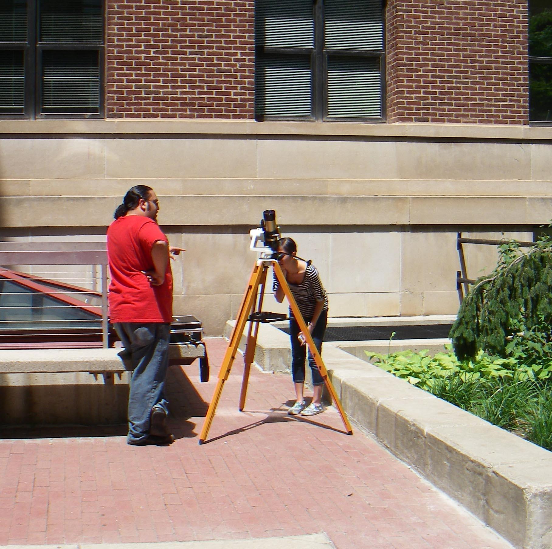 Solar telescope 2011